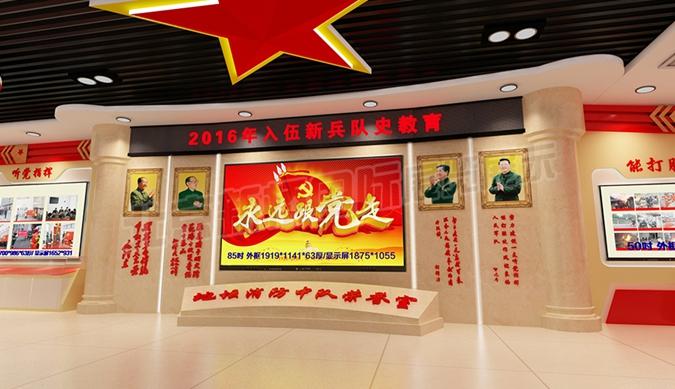 武警北京东城消防支队地坛中队荣誉室